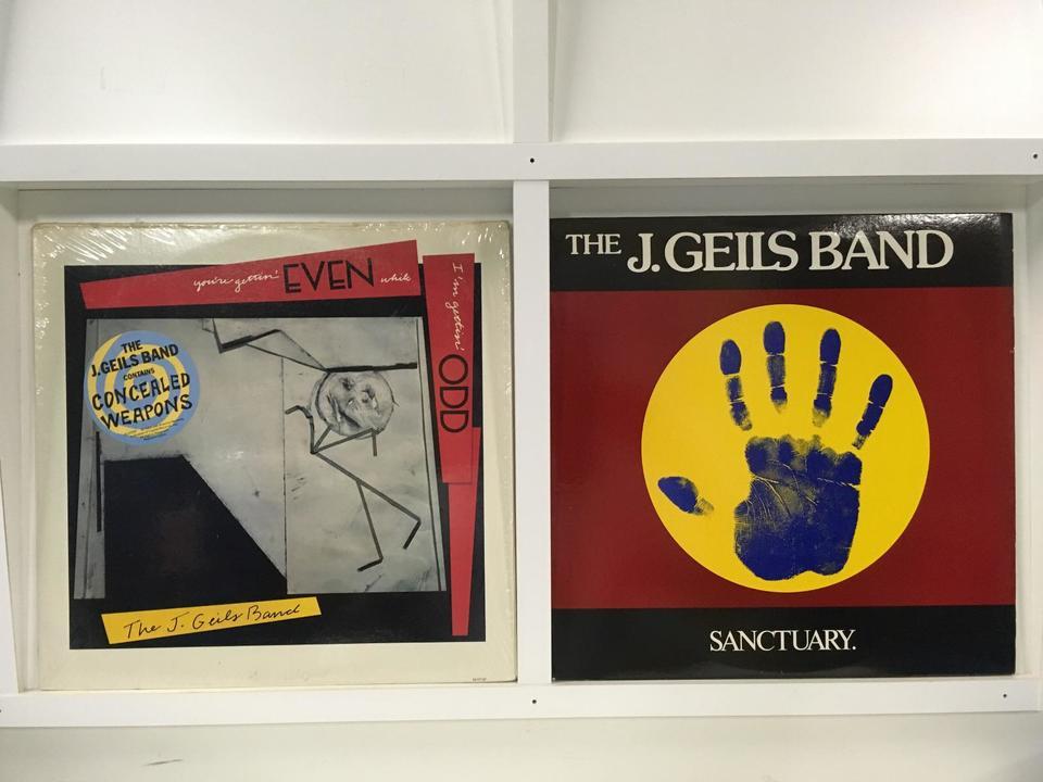 J・ガイルズ・バンド 4枚セット  画像