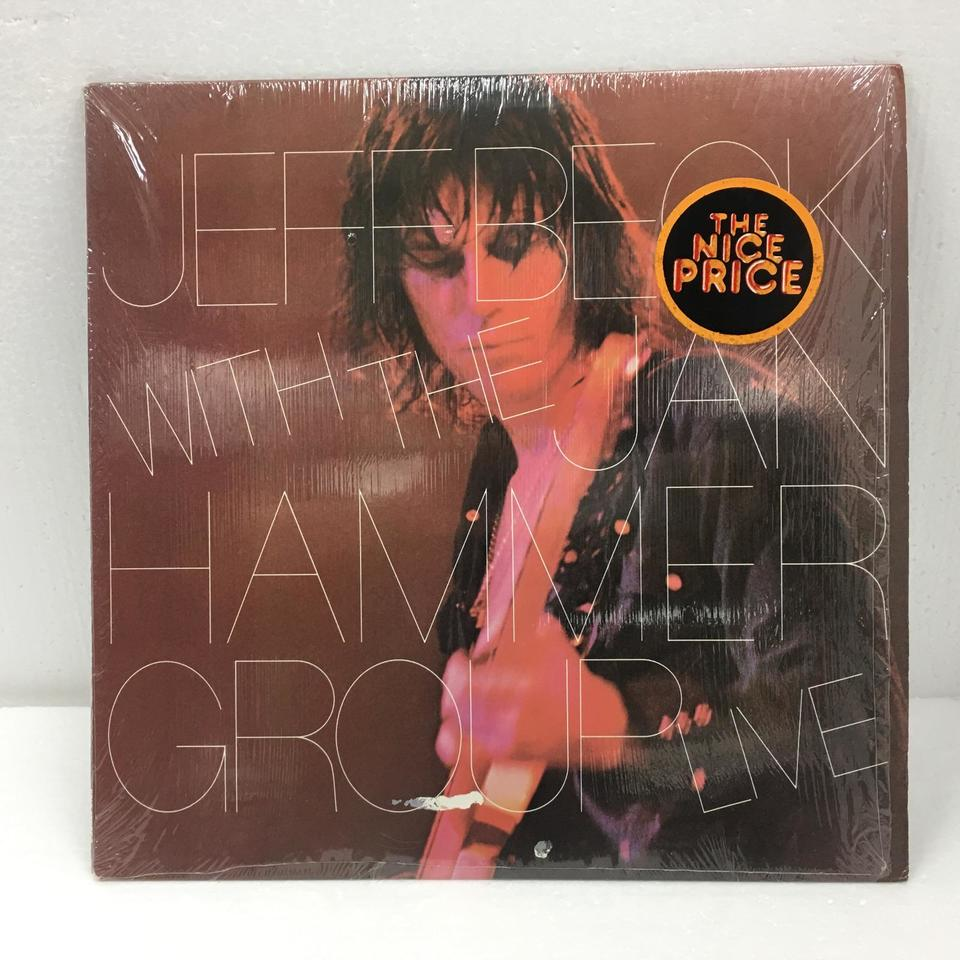 WITH THE JAN HAMMER GROUP LIVE/JEFF BECK JEFF BECK 画像
