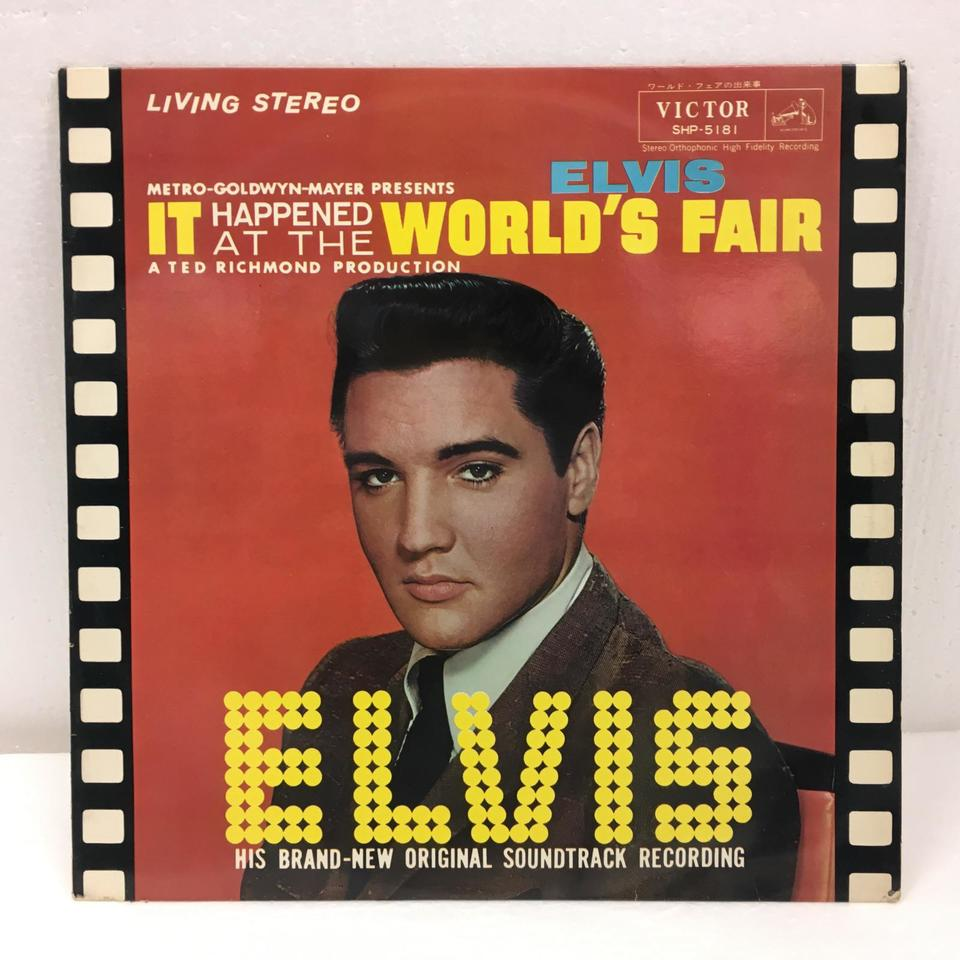 IT HAPPENED AT THE WORLD'S FAIR/ELVIS PRESLEY ELVIS PRESLEY 画像