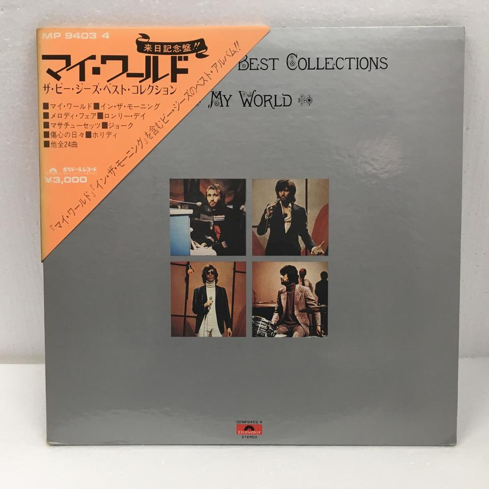MY WORLD/THE BEE GEES BEST COLLECTIONS THE BEE GEES 画像