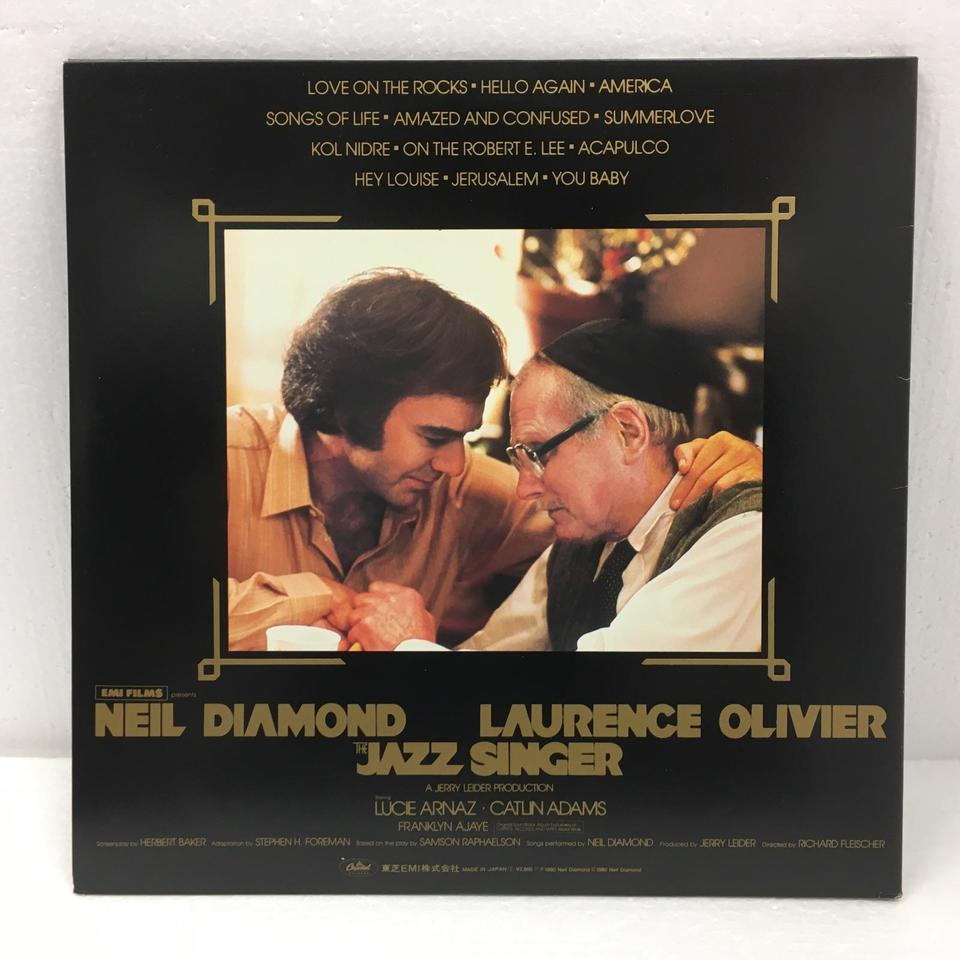 THE JAZZ SINGER(OREGINAL SONGS FROM THE MOTION PICTURE)/NEIL DIAMOND NEIL DIAMOND 画像