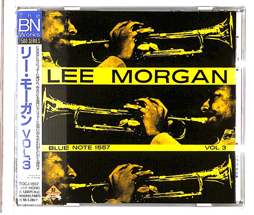 LEE MORGAN VOL.3 LEE MORGAN 画像