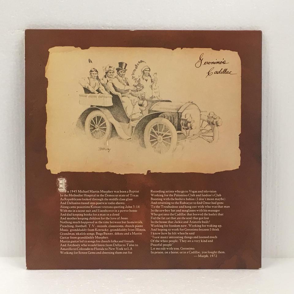 GERONIMO'S CADILLAC/MICHAEL MURPHEY MICHAEL MURPHEY 画像