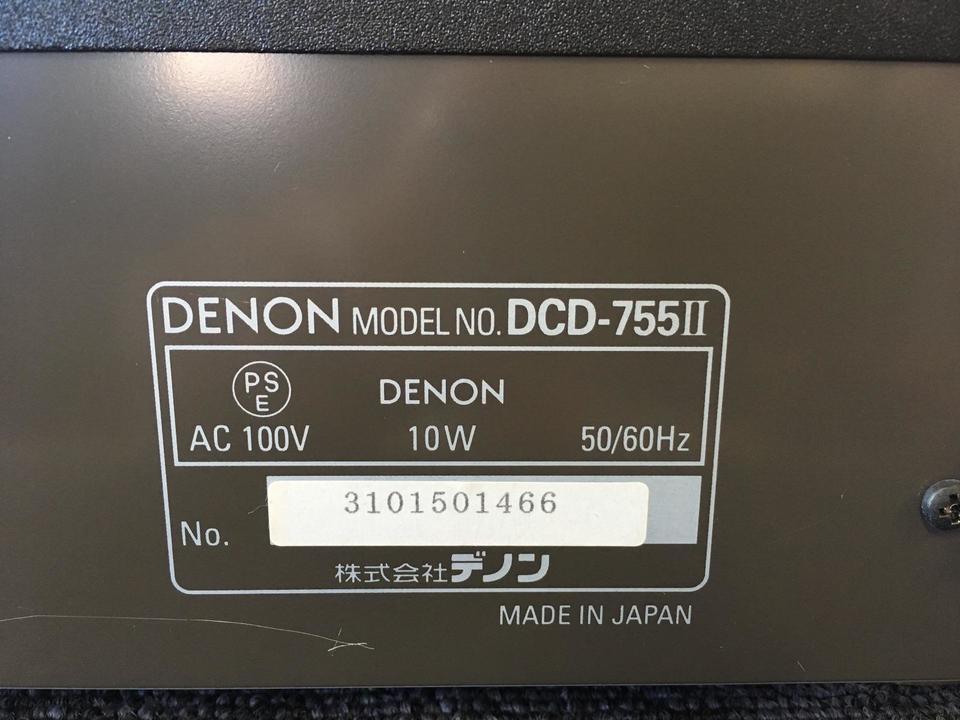 DCD-755/2 DENON 画像
