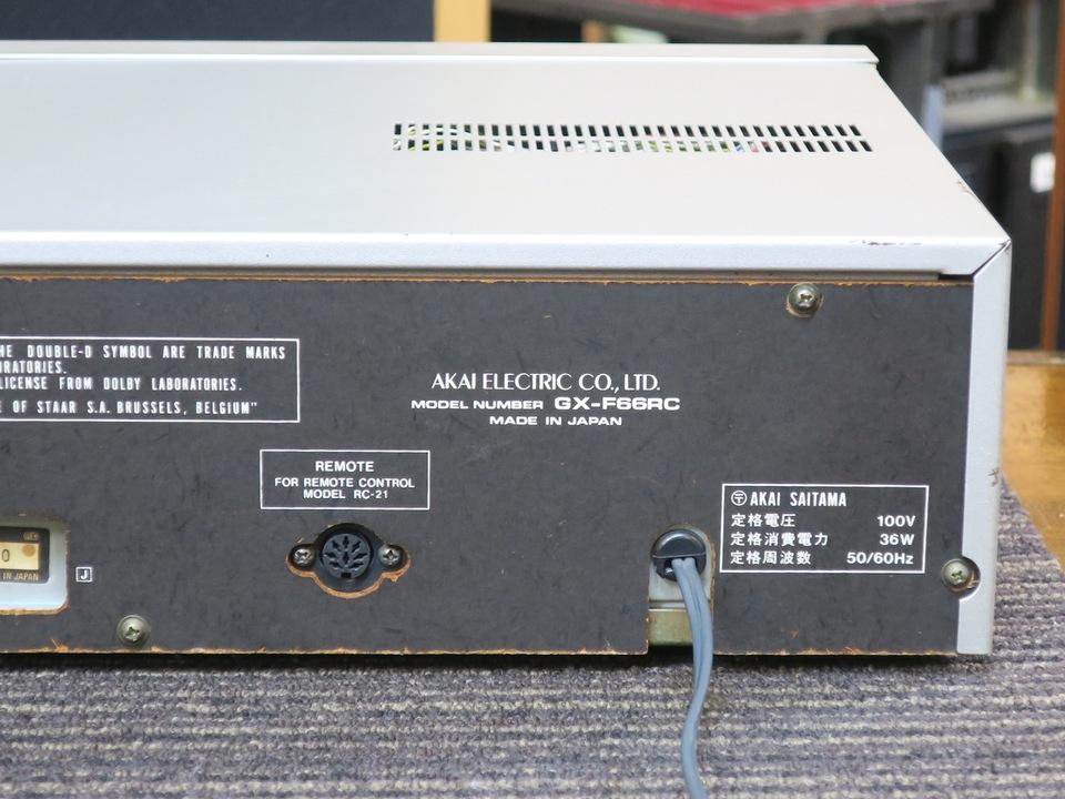 GX-F66RC AKAI 画像