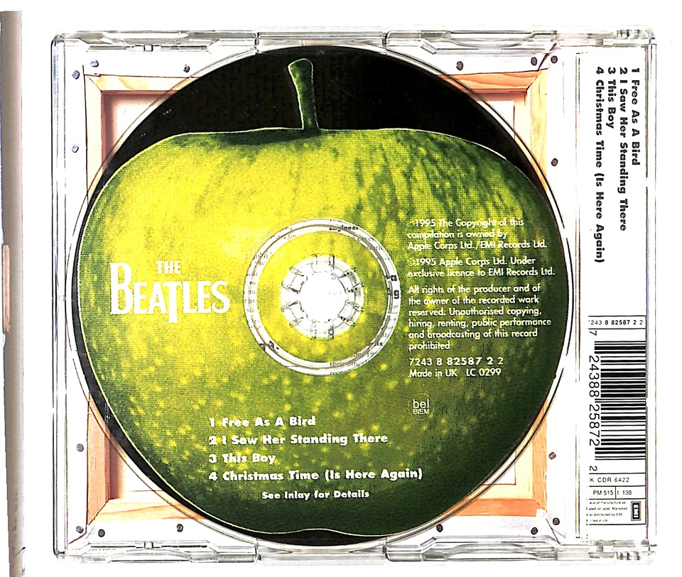 FREE AS A BIRD/THE BEATLES THE BEATLES 画像