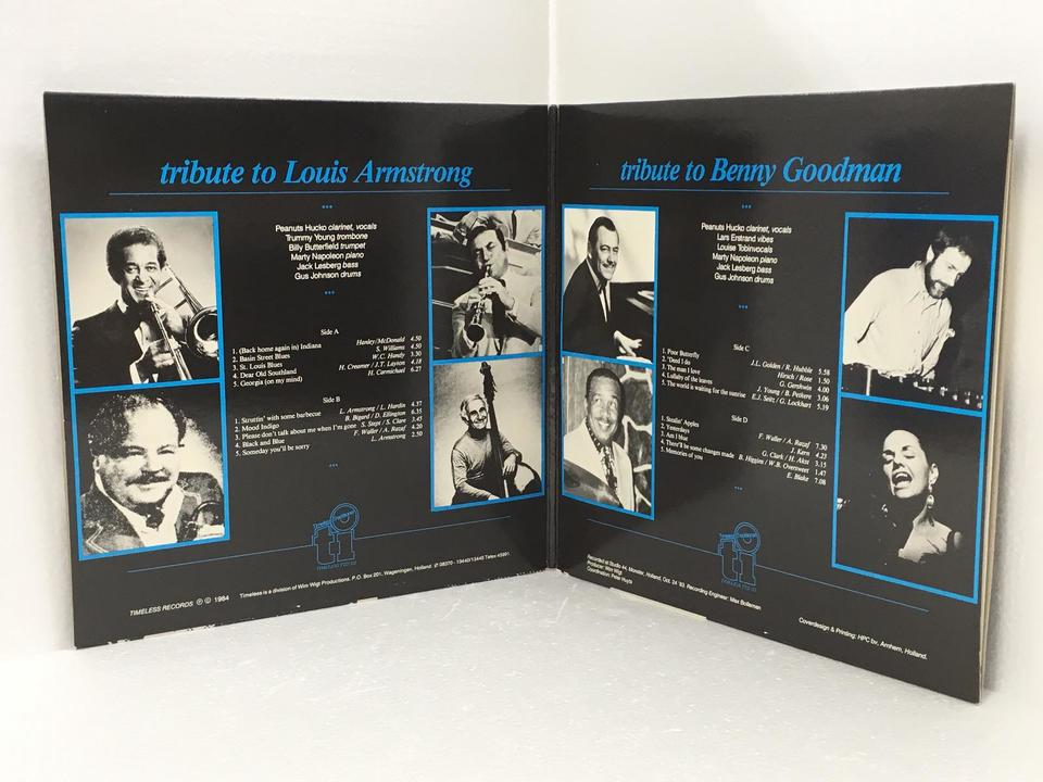 TRIBUTE TO LOUIS ARMSTRONG / TRIBUTE TO BENNY GOODMAN V.A. 画像