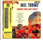 SONGS FOR ANY TASTE/MEL TORME