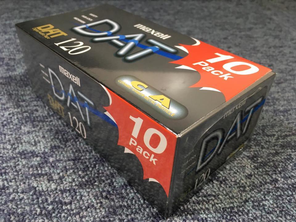 【未開封】DAT120(10パック)DM120D  画像