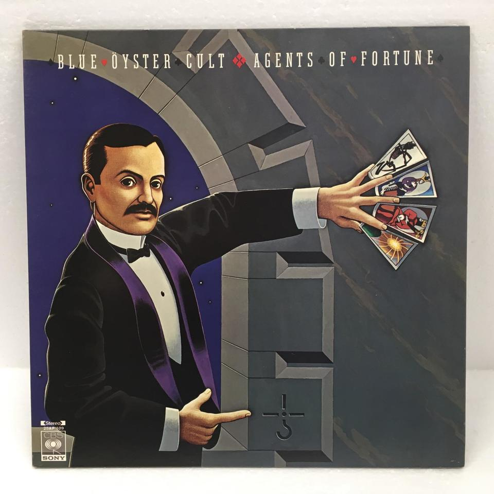 AGENTS OF FORTUNE/BLUE OYSTER CULT BLUE OYSTER CULT 画像
