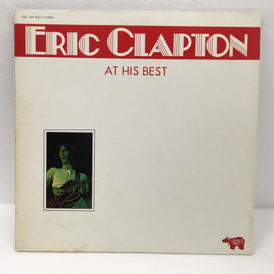 AT HIS BEST/ERIC CLAPTON ERIC CLAPTON 画像