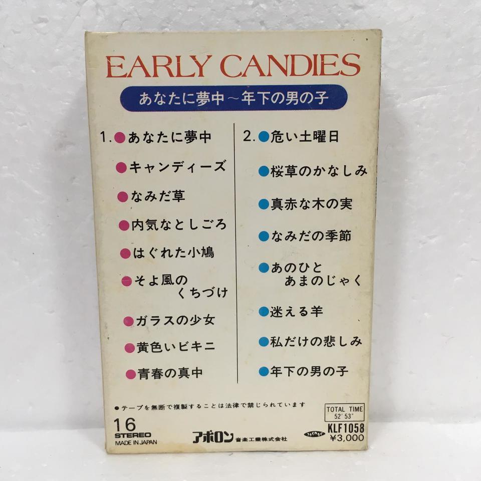 下 の 年 男の子 キャンディーズ