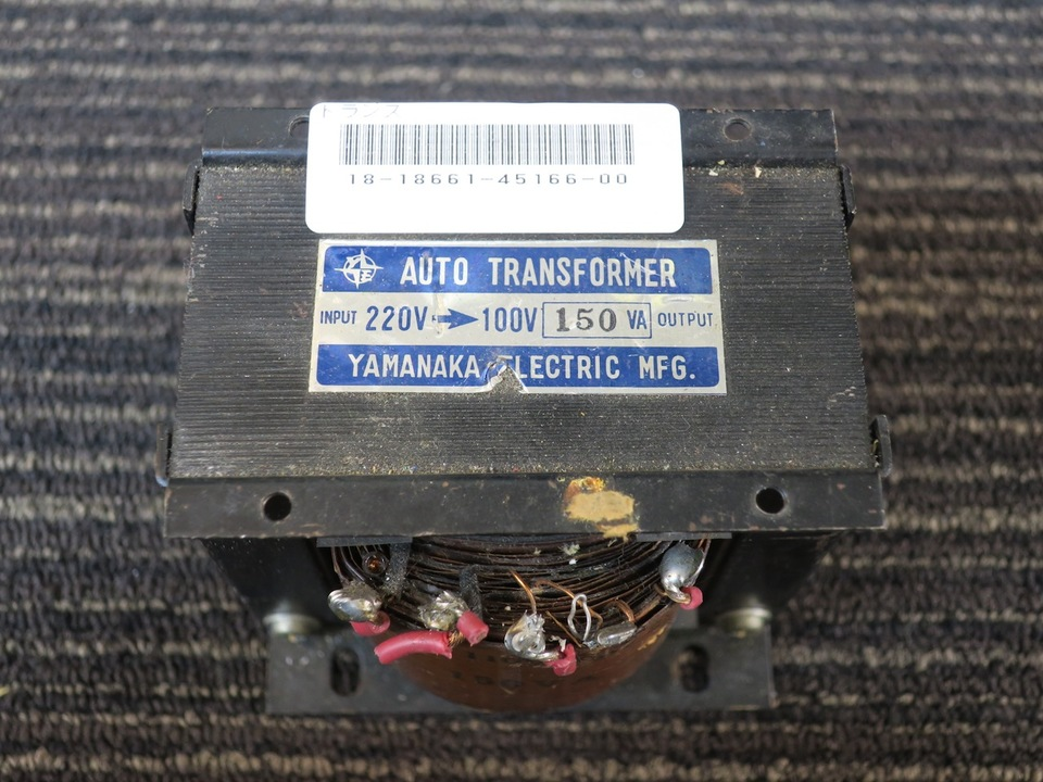 不明トランス YAMANAKA ELECTRIC 画像