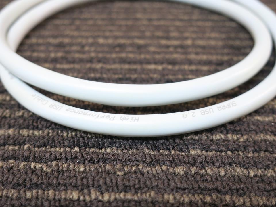 USB2.0 MiniB/1.0m SUPRA 画像