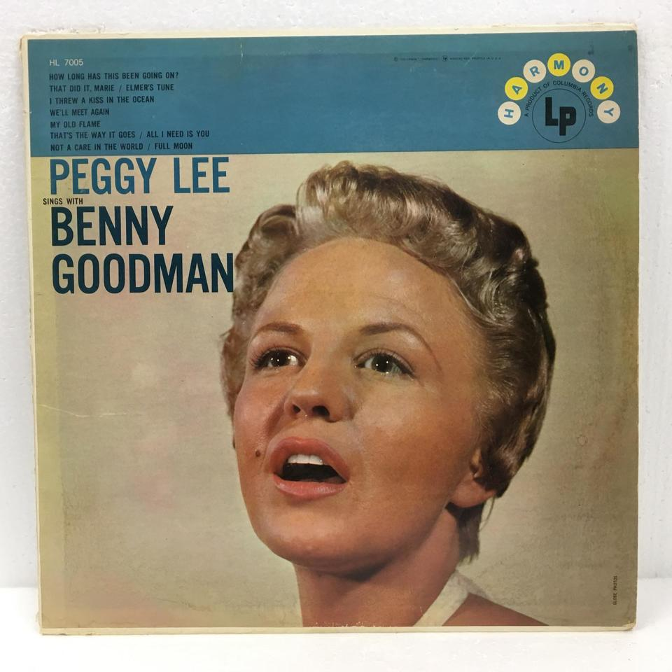 PEGGY LEE SINGS WITH BENNY GOODMAN PEGGY LEE 画像