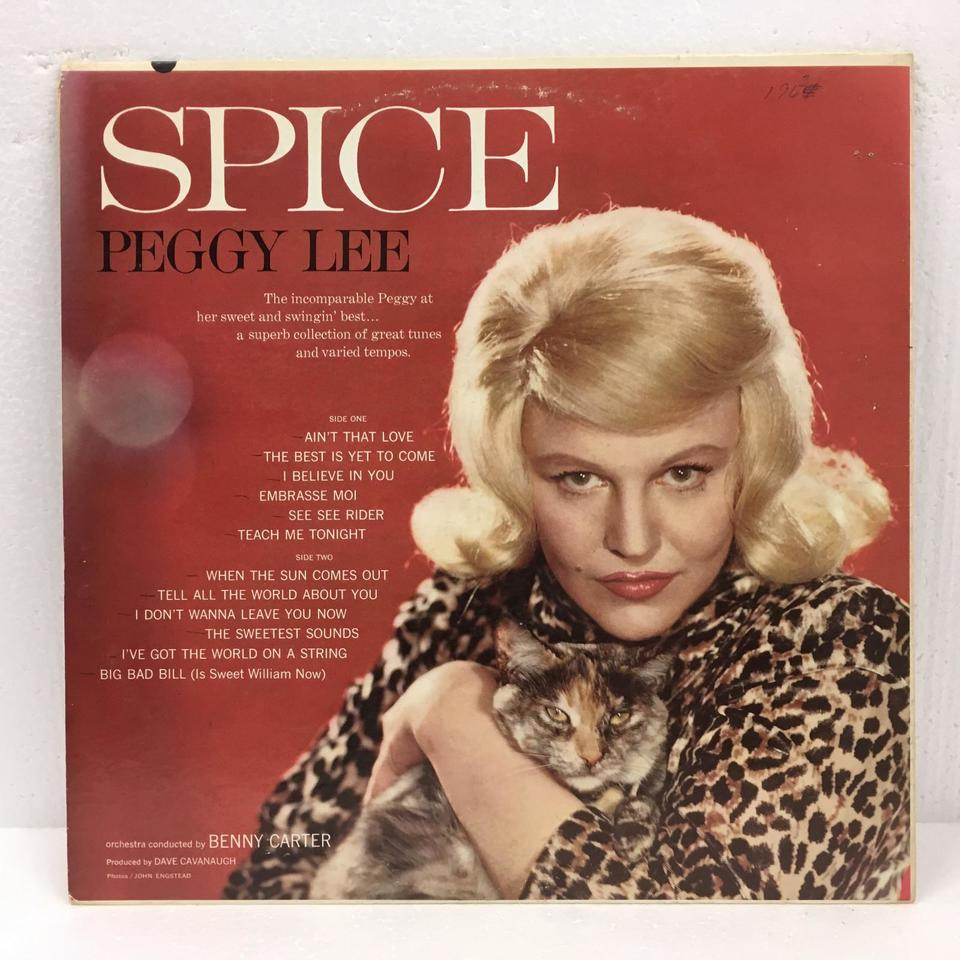 SUGAR 'N' SPICE/PEGGY LEE PEGGY LEE 画像