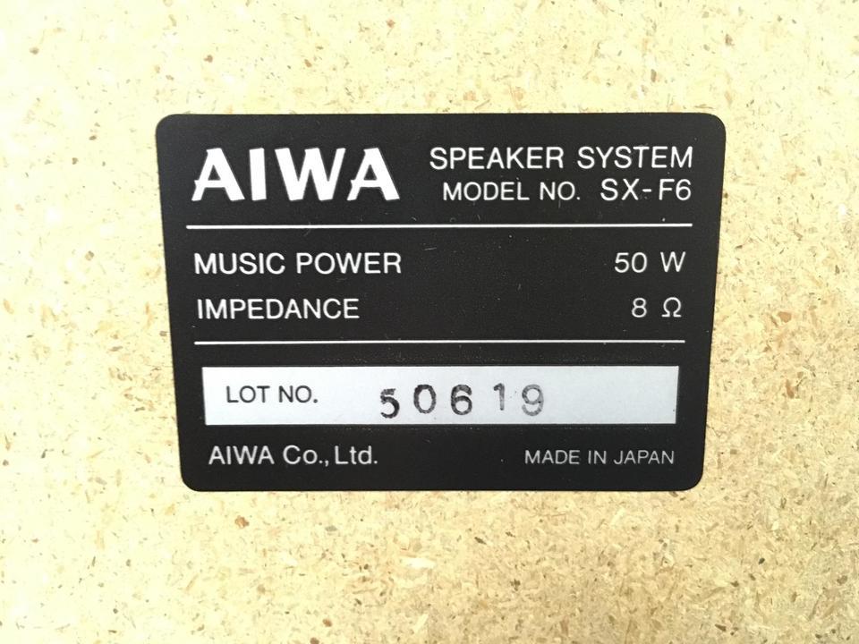 SX-F6 AIWA 画像