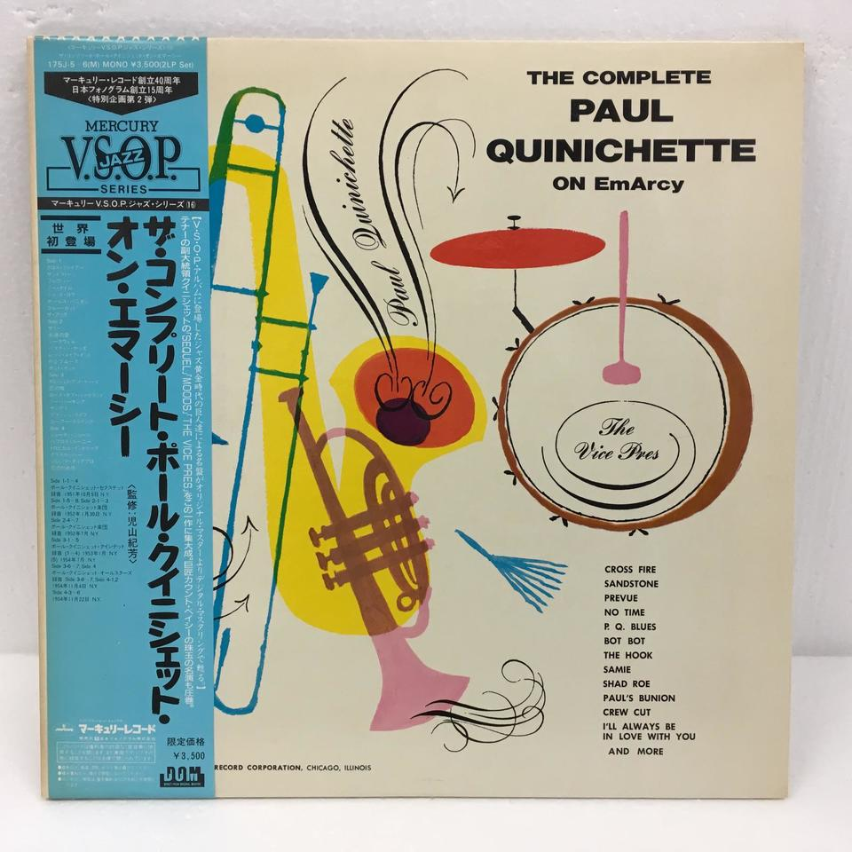 THE COMPLETE PAUL QUINICHETTE ON EmArcy PAUL QUINICHETTE 画像