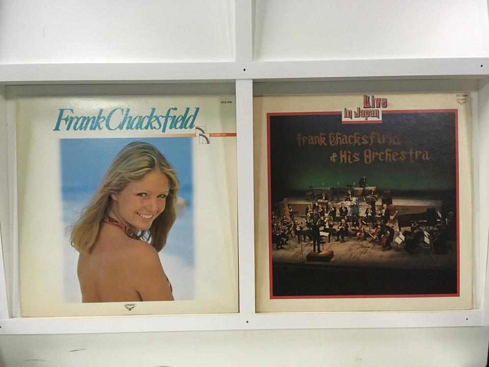 フランク・チャックスフィールド 4枚セット  画像