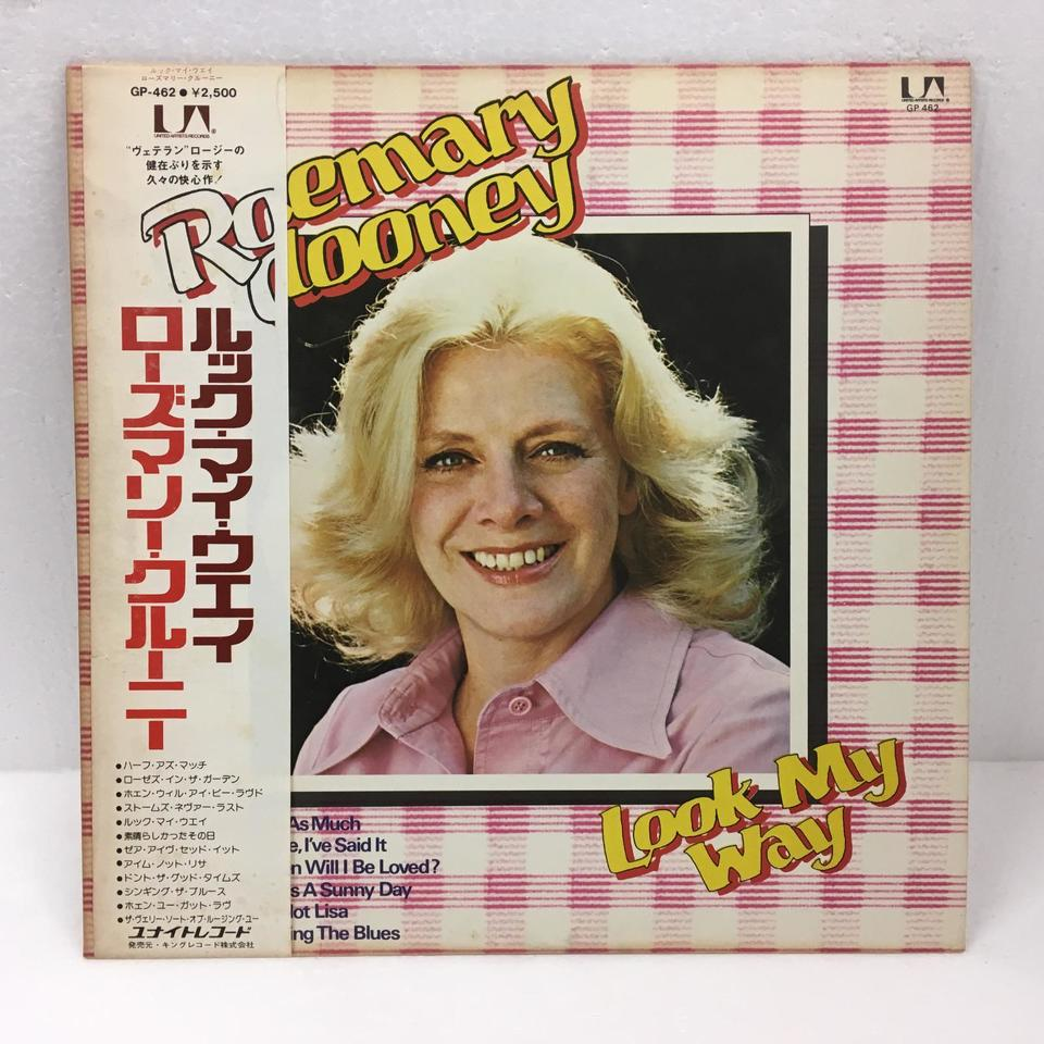 LOOK MY WAY/ROSEMARY CLOONEY ROSEMARY CLOONEY 画像