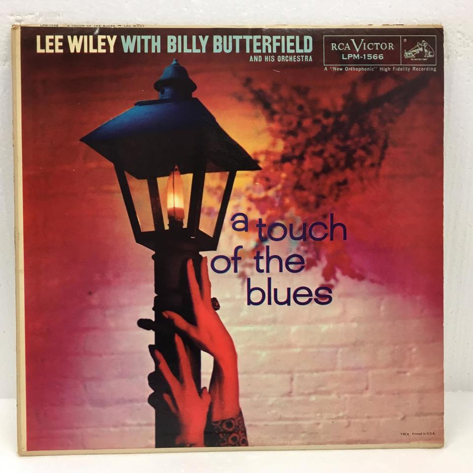A TOUCH OF THE BLUES/LEE WILEY LEE WILEY 画像