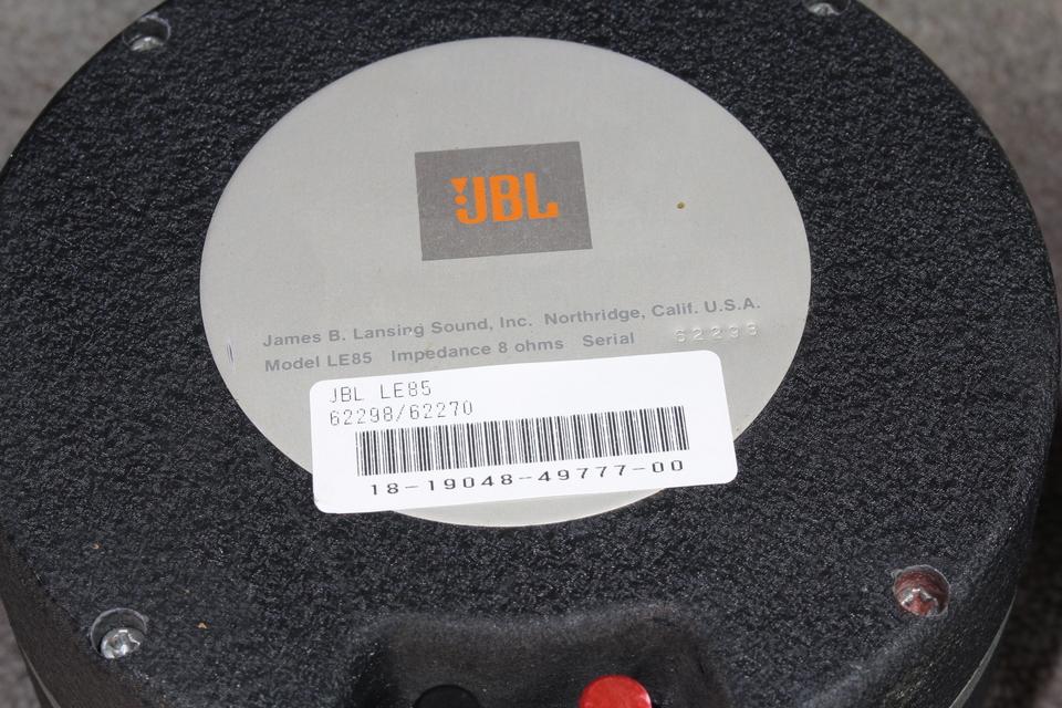 LE85 JBL 画像
