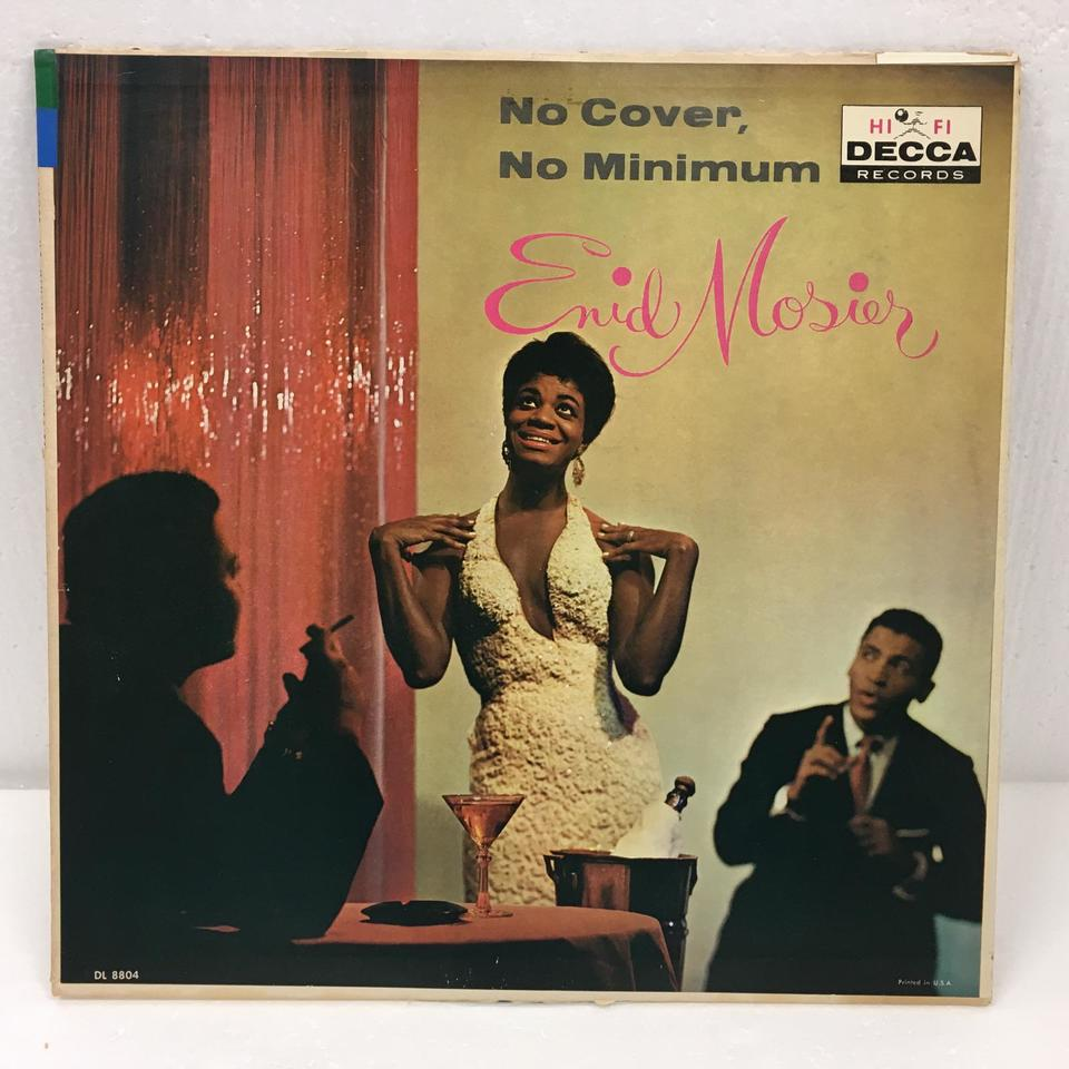 NO COVER, NO MINIMUM/ENID MOSIER ENID MOSIER 画像