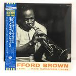 CLIFFORD BROWN MORE MEMORABLE TRACKS