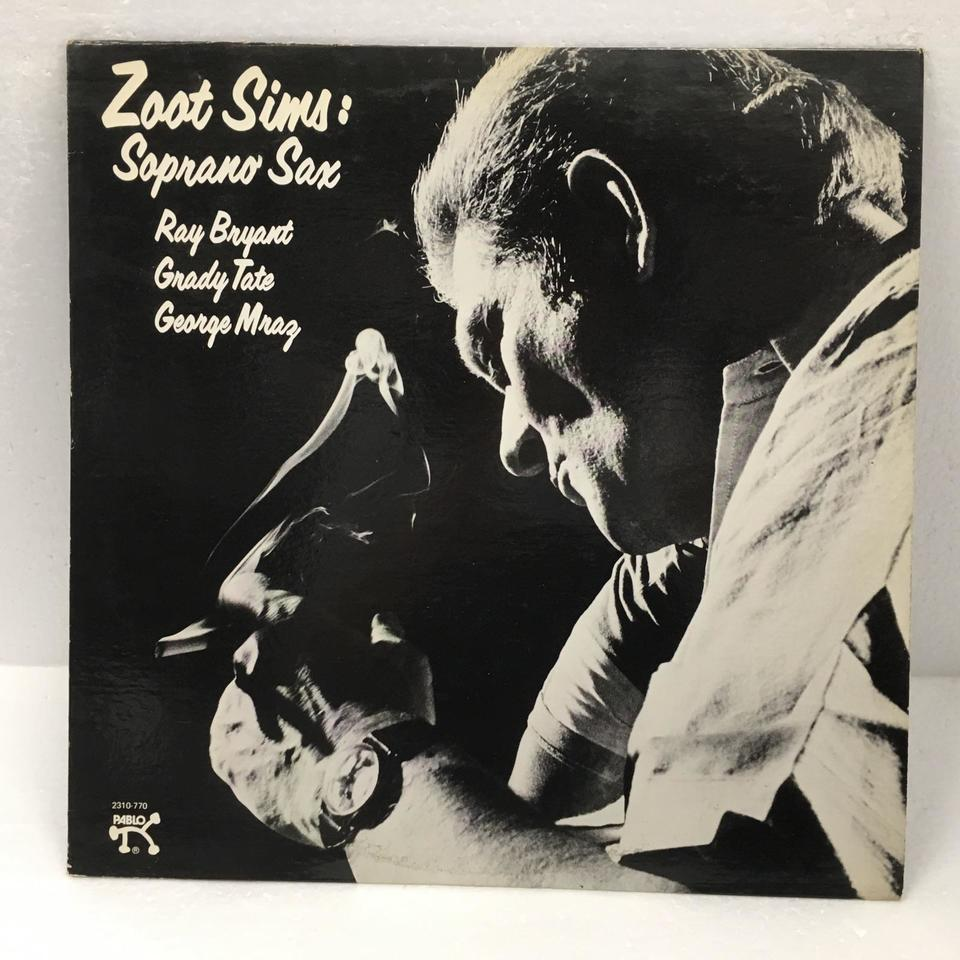 ZOOT PLAYS SOPRANO/ZOOT SIMS ZOOT SIMS 画像