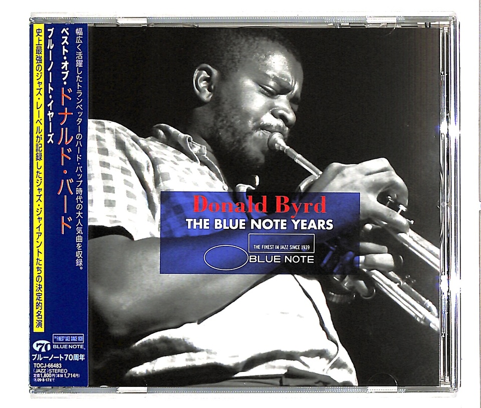 THE BLUE NOTE YEARS/DONALD BYRD DONALD BYRD 画像