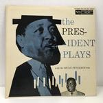 THE PRESIDENT PLAYS WITH THE OSCAR PETERSON/LESTER YOUNG