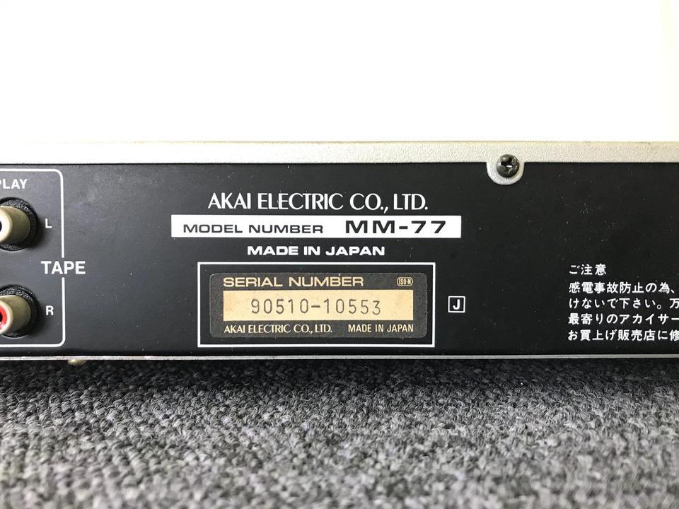 MM-77 AKAI 画像