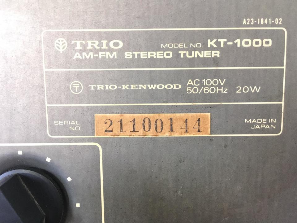 KT-1000 TRIO 画像