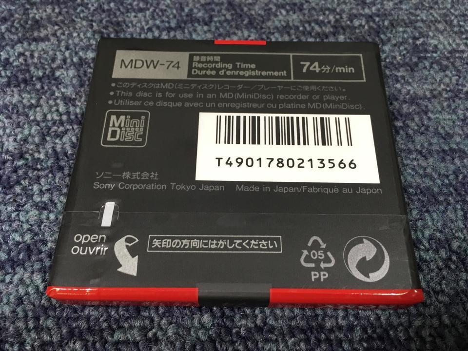 【未開封】MiniDisc 74  画像