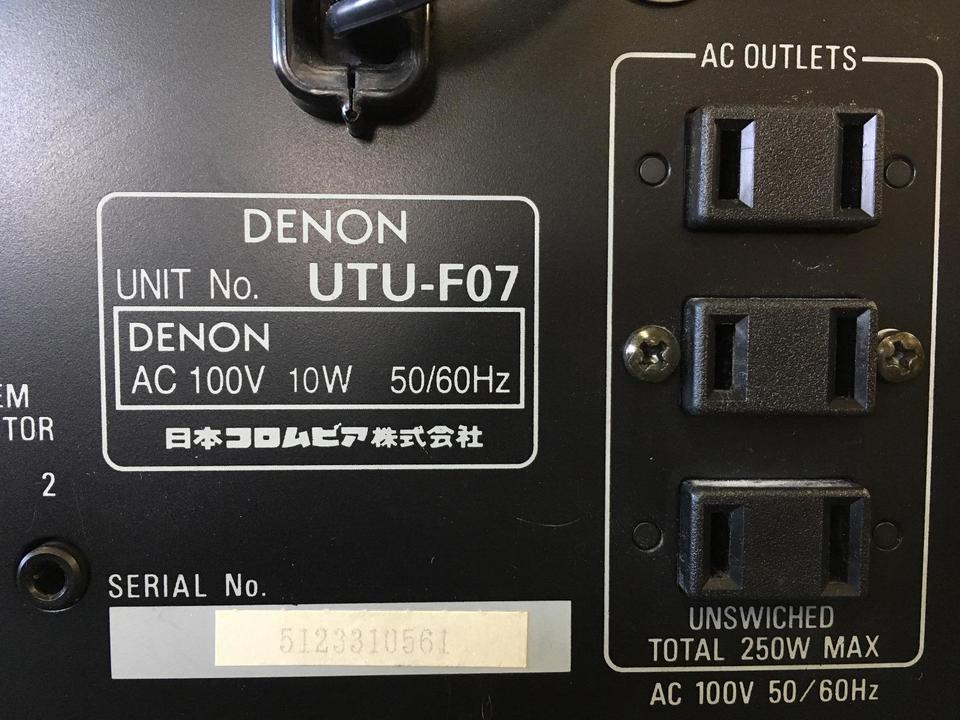 UTU-F07 DENON 画像