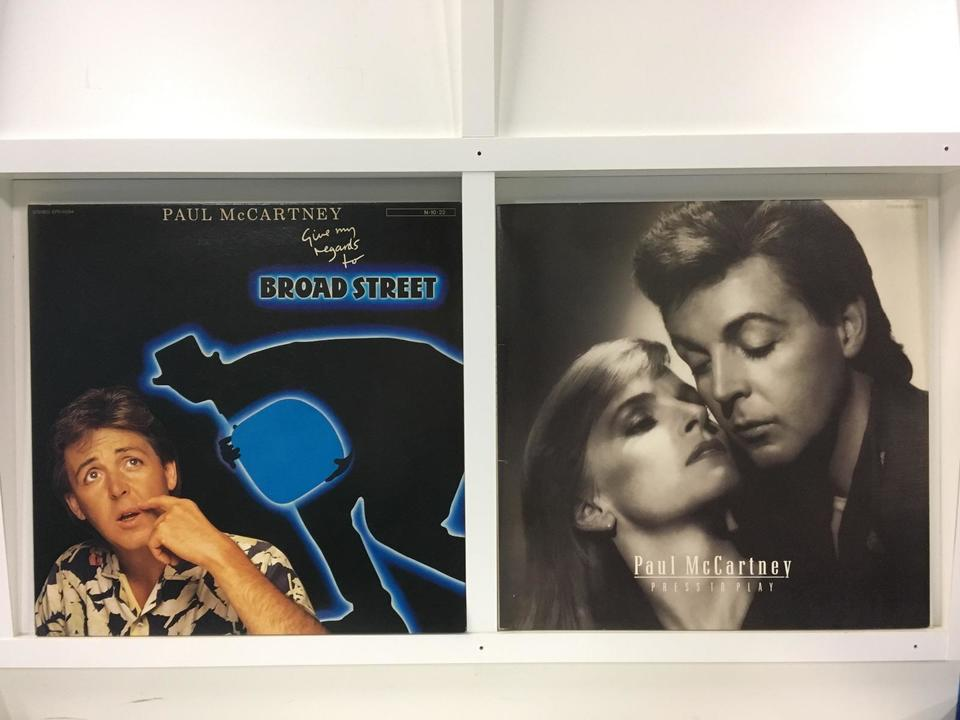 ポール・マッカートニー 4枚セット  画像