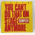 YOU CAN'T DO THAT ON STAGE ANYMORE SAMPLER/FRANK ZAPPA