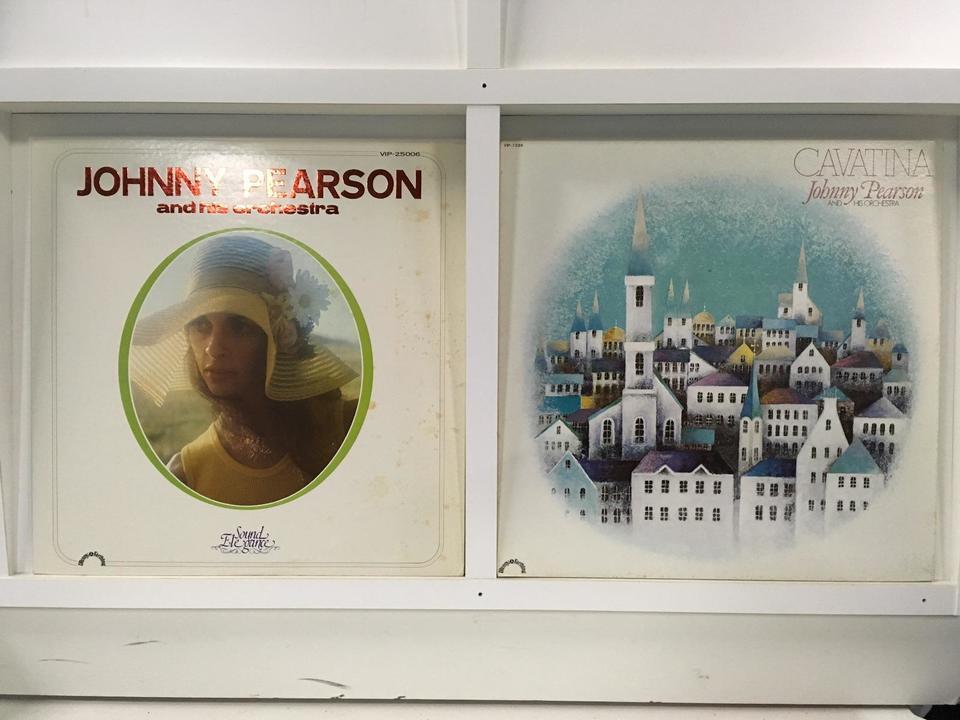 ジョニー・ピアソン 4枚セット  画像