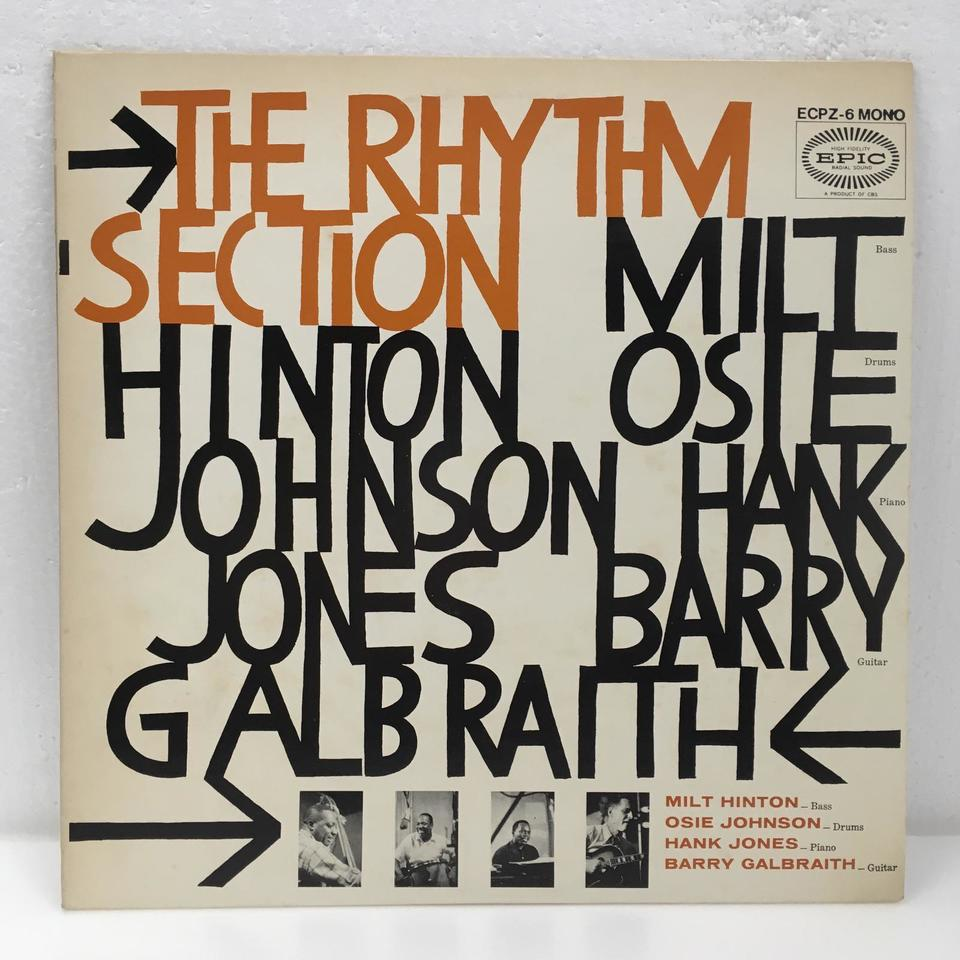 THE RHYTHM SECTION/HANK JONES HANK JONES 画像