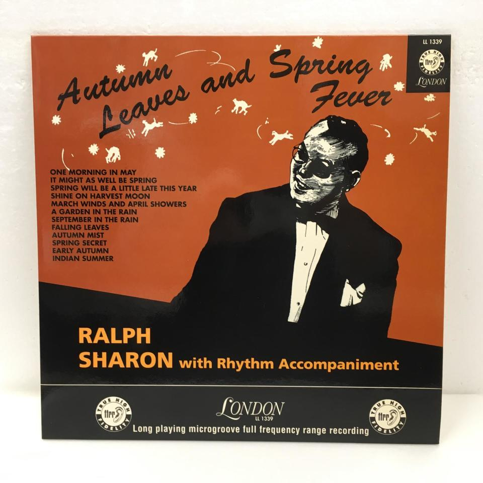 AUTUMN LEAVES AND SPRING FEVER/RALPH SHARON RALPH SHARON 画像