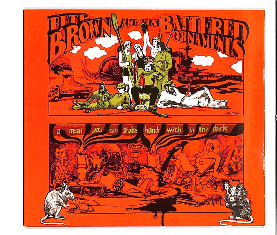 A MEAL YOU CAN SHAKE HANDS WITH IN THE DARK/PETE BROWN & HIS BATTERED ORNAMENTS PETE BROWN & HIS BATTERED ORNAMENTS 画像