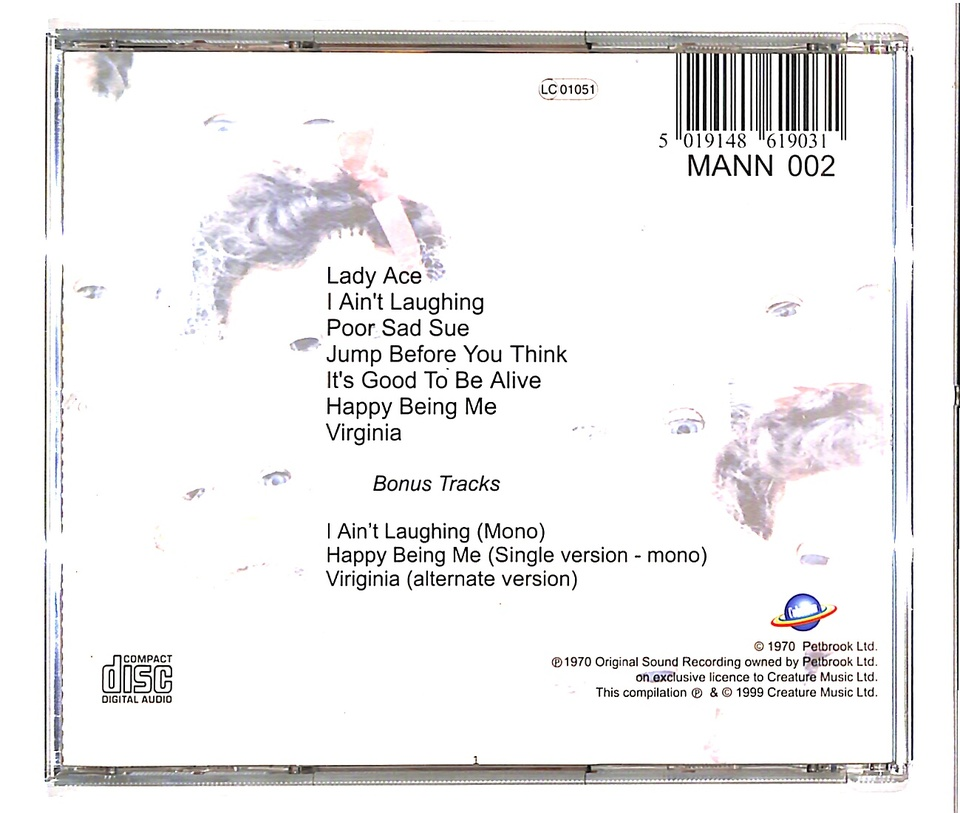 VOLUME TWO/MANFRED MANN CHAPTER THREE MANFRED MANN CHAPTER THREE 画像