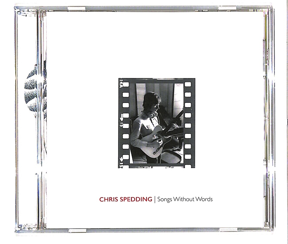 SONGS WITHOUT WORDS/CHRIS SPEDDING CHRIS SPEDDING 画像
