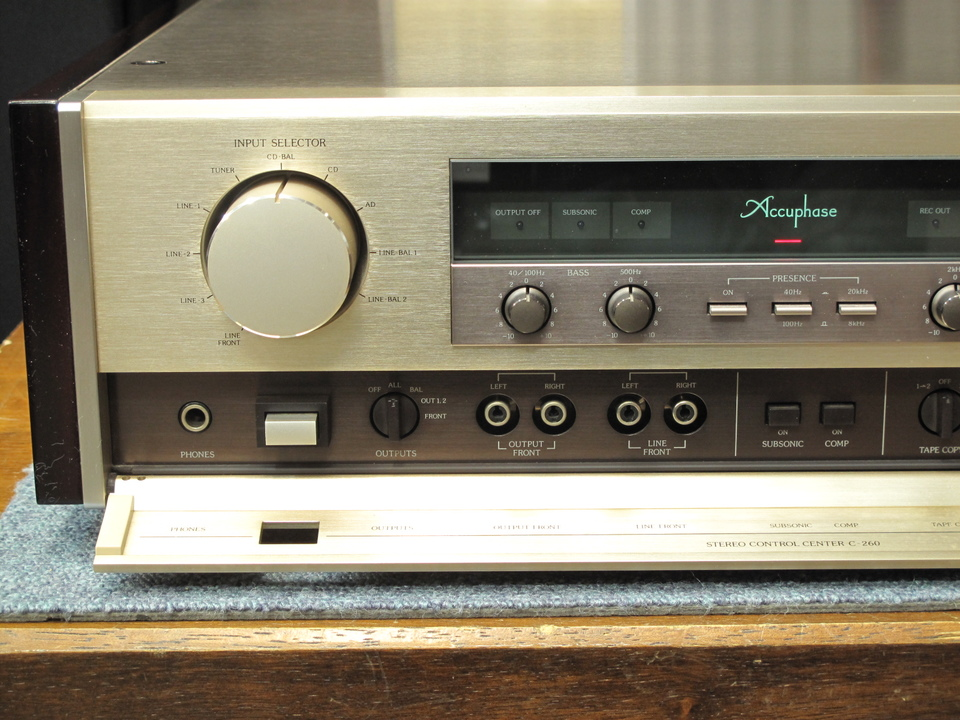 C-260 Accuphase 画像