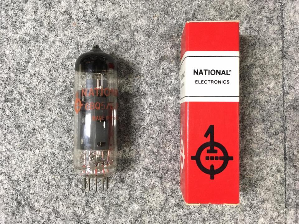 6BQ5 NATIONAL ELECTRONICS 画像
