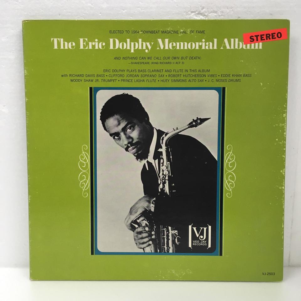 THE ERIC DOLPHY MEMORIAL ALBUM ERIC DOLPHY 画像