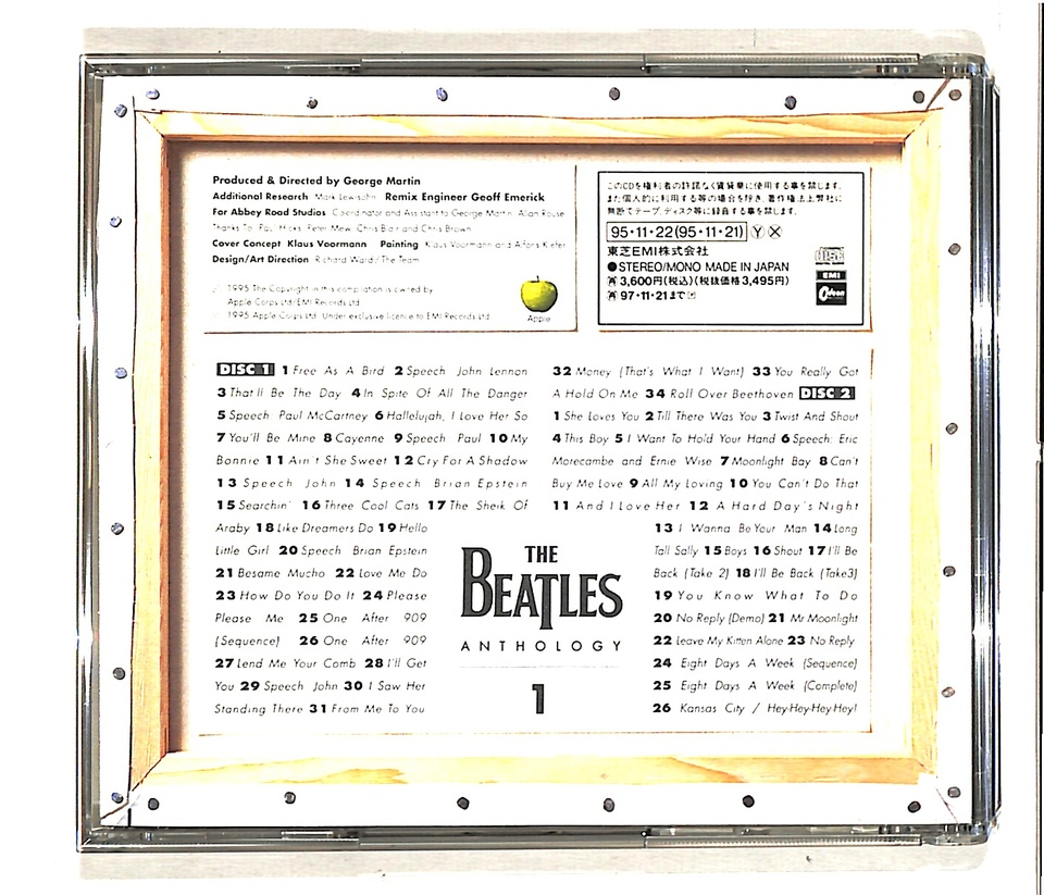 ANTHOLOGY 1/THE BEATLES THE BEATLES 画像