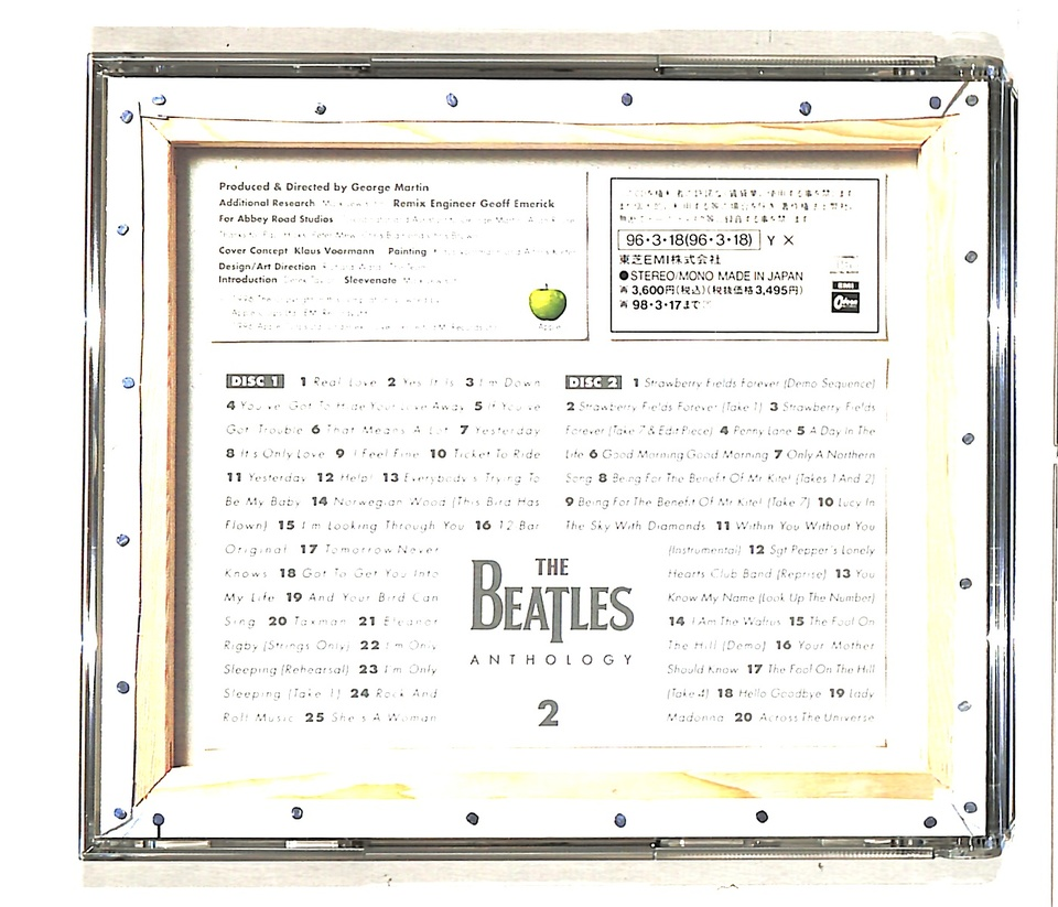 ANTHOLOGY 2/THE BEATLES THE BEATLES 画像