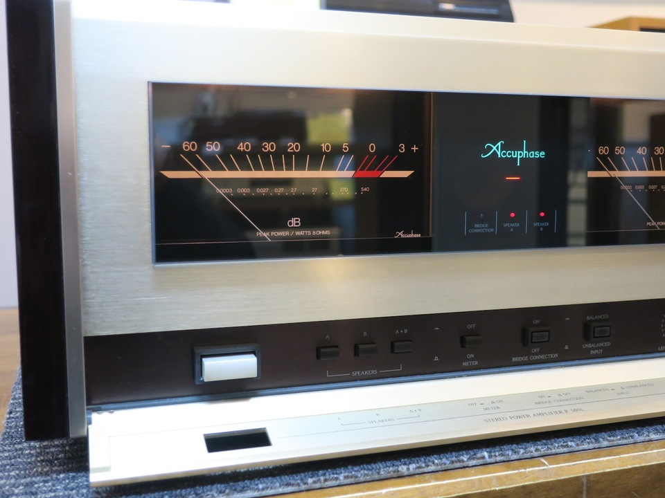 P-500L Accuphase 画像