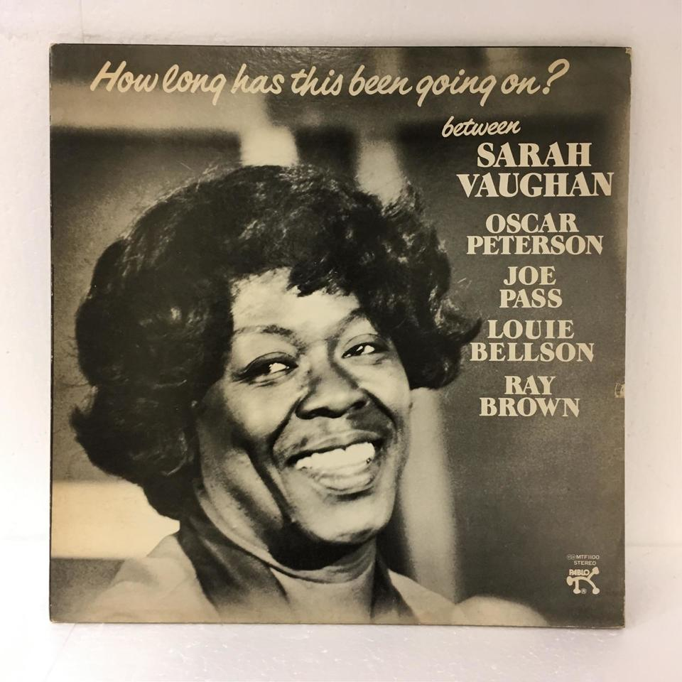 HOW LONG HAS THIS BEEN GOING ON ?/SARAH VAUGHAN SARAH VAUGHAN 画像